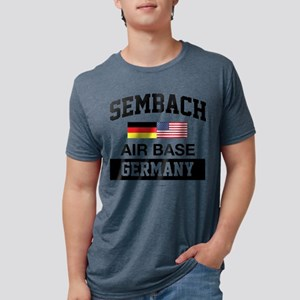 Sembach Air Base Germany Mens Tri-blend T-Shirt