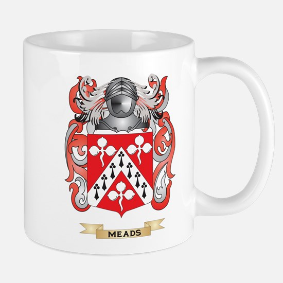 Meads Coat of Arms - Family Crest Mug