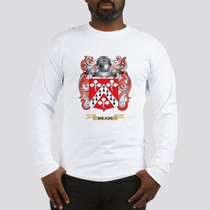Meads Coat of Arms - Family Crest Long Sleeve T-Sh