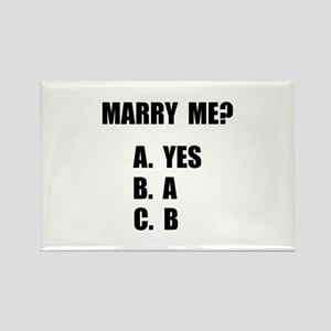 Marry Me Rectangle Magnet (10 pack)