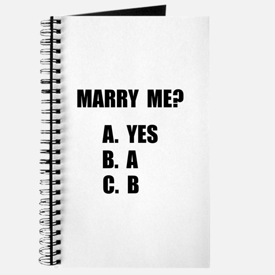 Marry Me Journal