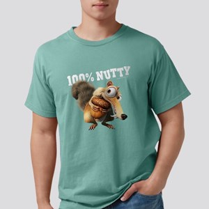 Ice Age Scrat 100% Nutty Mens Comfort Colors Shirt