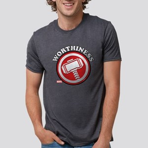 Thor Worthiness Mens Tri-blend T-Shirt