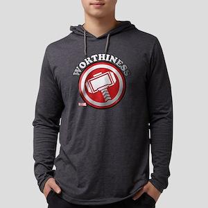 Thor Worthiness Mens Hooded Shirt