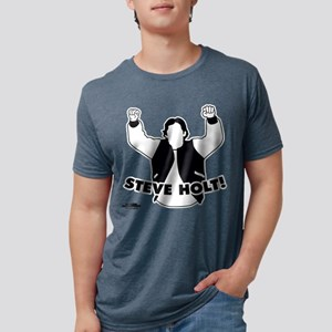 Steve Holt Light Mens Tri-blend T-Shirt