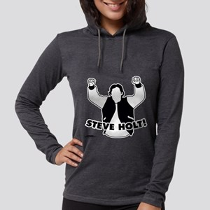 Steve Holt Light Womens Hooded Shirt