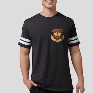 USAF-8th-AF-Shield-Desert Mens Football Shirt