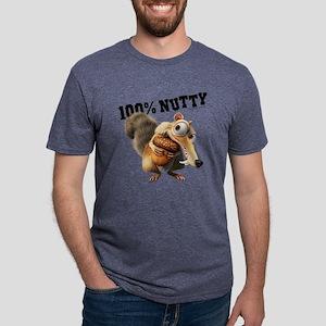 Ice Age Scrat 100% Nutty Li Mens Tri-blend T-Shirt