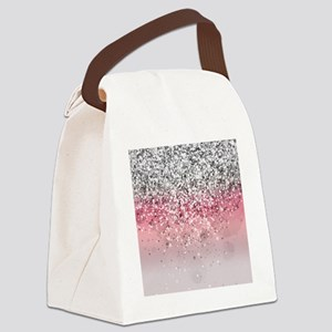 Glitteresques X Canvas Lunch Bag