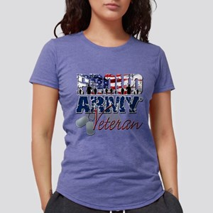 ProudArmyVeteran Womens Tri-blend T-Shirt