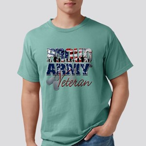 ProudArmyVeteran Mens Comfort Colors Shirt