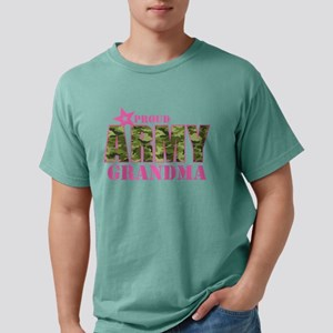 Camo Proud Army Grandma Mens Comfort Colors Shirt