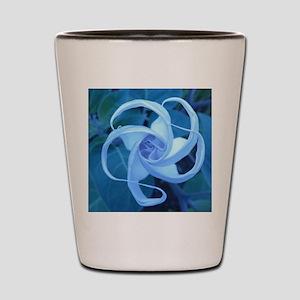 MOON FLOWER Shot Glass