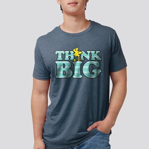 Woodstock-Think Big Mens Tri-blend T-Shirt