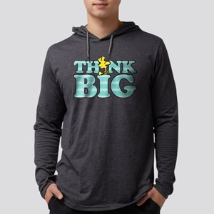 Woodstock-Think Big Mens Hooded Shirt