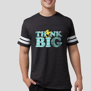 Woodstock-Think Big Mens Football Shirt
