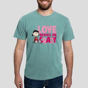 Lucy Love Drives Me Craz Mens Comfort Colors Shirt