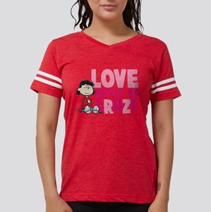 Lucy Love Drives Me Crazy Womens Football Shirt