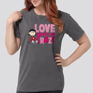 Lucy Love Drives Me Cr Womens Comfort Colors Shirt