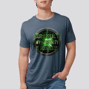 Your Appeal to My Humanity  Mens Tri-blend T-Shirt