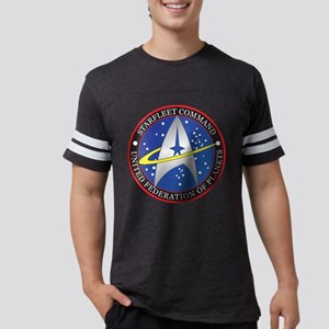 StarfleetCommand Mens Football Shirt