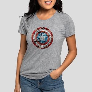 Shield Collage Womens Tri-blend T-Shirt