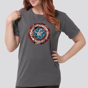 Shield Collage Womens Comfort Colors Shirt