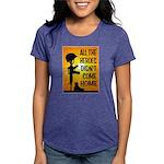 HEROES TRIBUTE Womens Tri-blend T-Shirt