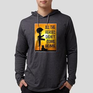 HEROES TRIBUTE Mens Hooded Shirt