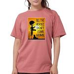 HEROES TRIBUTE Womens Comfort Colors Shirt