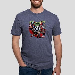 AvengersGroup light Mens Tri-blend T-Shirt