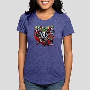 AvengersGroup light Womens Tri-blend T-Shirt