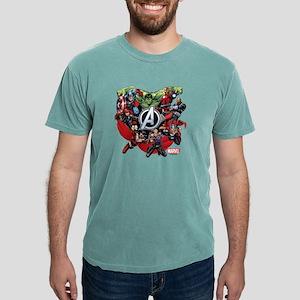AvengersGroup light Mens Comfort Colors Shirt