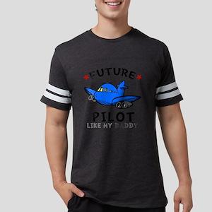 Pilot Daddy Mens Football Shirt