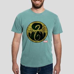 Iron Fist Icon Distresse Mens Comfort Colors Shirt