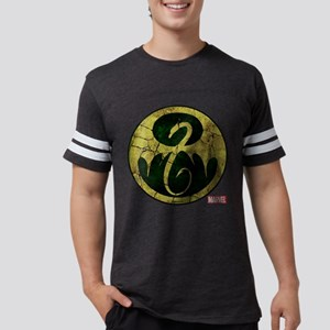 Iron Fist Icon Distressed Mens Football Shirt