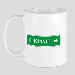Roadmarker Cincinatti (OH) Mug
