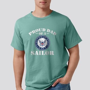 Proud Dad Of A US Navy S Mens Comfort Colors Shirt