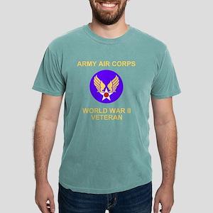 AAC-Veteran-Black Mens Comfort Colors Shirt