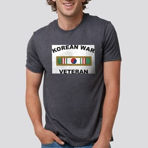 vet-korean1 Mens Tri-blend T-Shirt