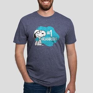 NumberOneGrandson Mens Tri-blend T-Shirt
