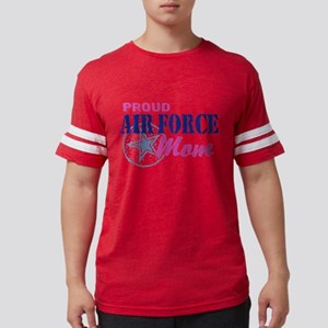 airforcemom771 Mens Football Shirt