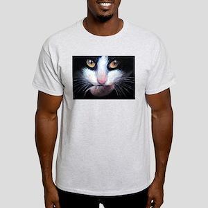 Tuxedo Cats Ash Grey T-Shirt