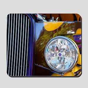 Hot Rod Show Car Light Mousepad