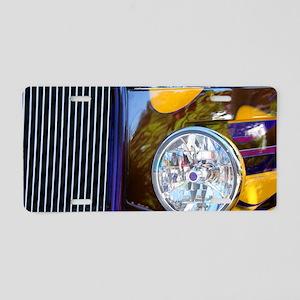 Hot Rod Show Car Light Aluminum License Plate