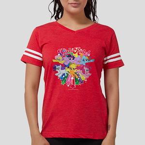 MLP Girls Rule! Dark Womens Football Shirt