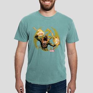 Iron Fist Glowing Fists  Mens Comfort Colors Shirt