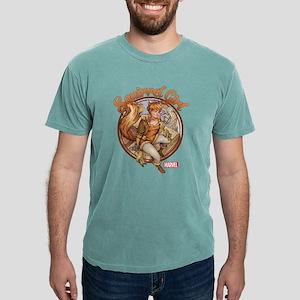 Squirrel Girl Rooftop Mens Comfort Colors Shirt