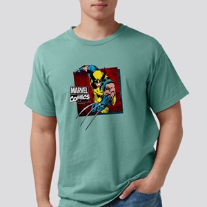 Wolverine Square Mens Comfort Colors Shirt
