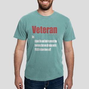 Veteran Definition Brand Mens Comfort Colors Shirt